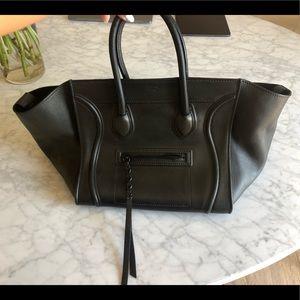 Celine Black Large Phantom Bag